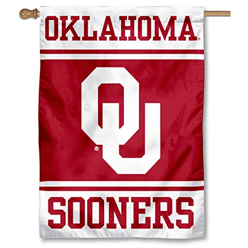 Oklahoma Sooners Two Sided and Double Sided House Flag