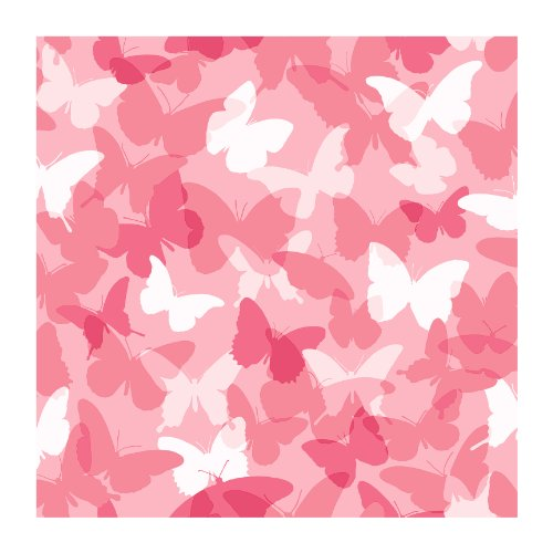 (York Wallcoverings CK7653SMP Candice Olson Kids Butterfly Camo 8 X 10 Wallpaper Memo Sample, Pink)