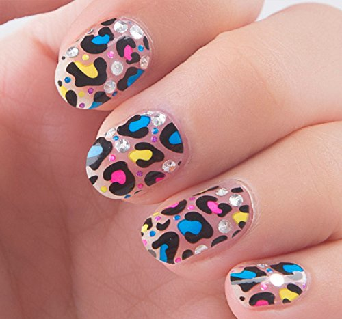 Nail Art Stickers Decals With Animal Prints (LEOPARD) Nail Sticker Tattoo - FashionDancing