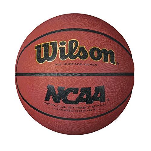 Wilson NCAA Replica Rubber Basketball (Ncaa Official Game)