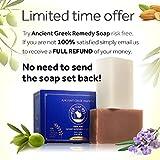Set of 2 Organic Natural Handmade Soap Bars with