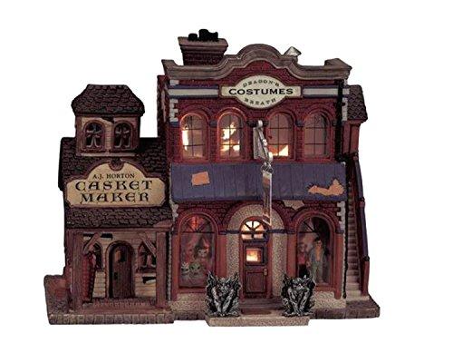 Lemax Spooky Town Village Collection Dragon's Breath Costume Shop #05468 ()