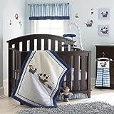 Laura Ashley Baby 4 Piece Crib Set Pirate Adventure