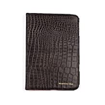 Members Only Genuine Leather Stand Up Portfolio Case Cover For Apple iPad Mini Gray Gator - Retail Packaging
