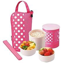 Zojirushi SZ-JA02PA Mini Bento Lunch Jar, Pink (japan import)