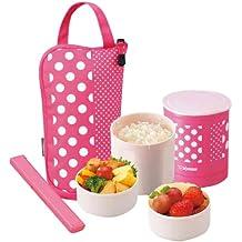 Zojirushi SZ-JA02PA Mini Bento Lunch Jar, Pink