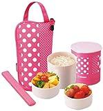 zojirushi food pink - Zojirushi SZ-JA02PA Mini Bento Lunch Jar, Pink