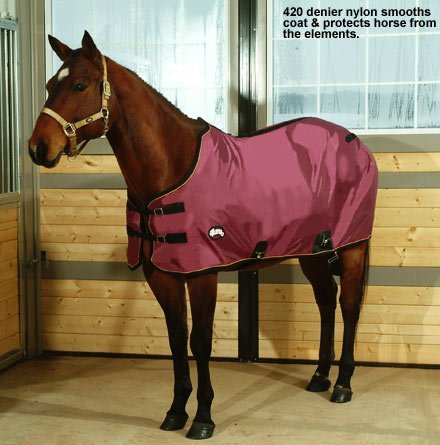 Weaver Lightweight Nylon Horse Turnout Sheet - Size:72