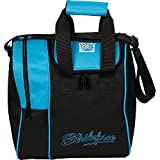 KR Strikeforce Rook Single Bowling Ball Tote Bag, Aqua