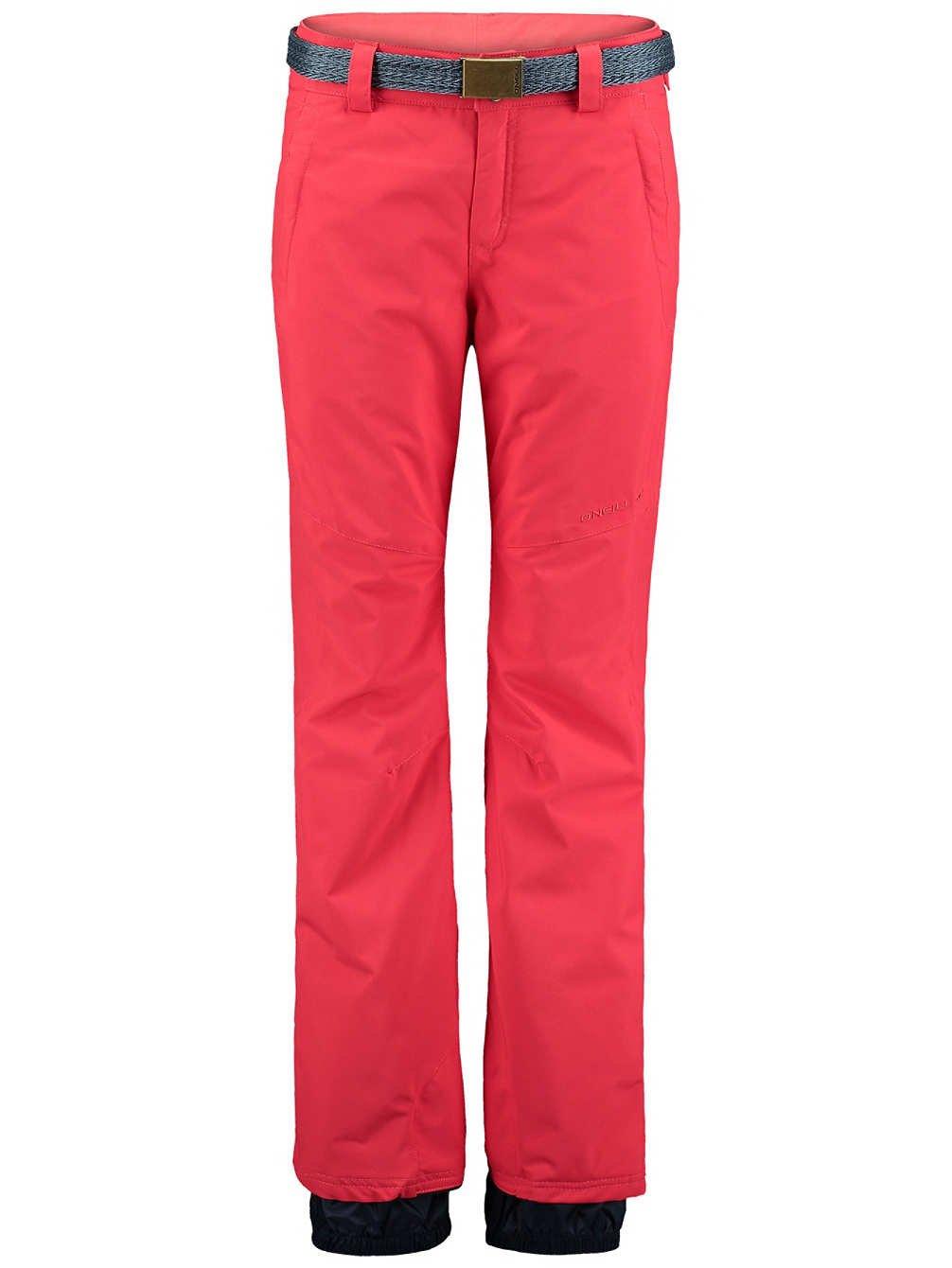 O' Neill–Pantaloni da sci snowboard pantaloni rosso Star isolato ThinsulateTM hyperdry, rot, S O' Neill