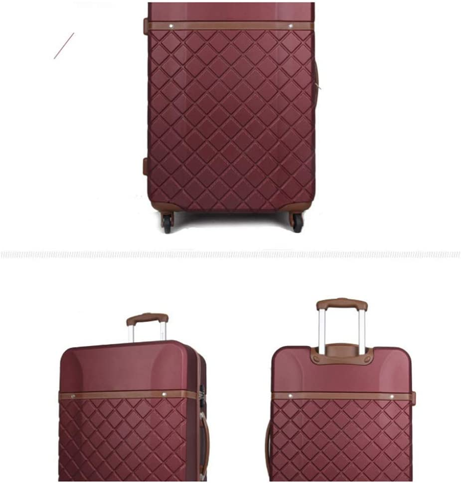 YSZG Business Trolley Neutral Suitcase Universal Wheel ABS Material case,