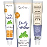Oxyfresh Fluoride Mint Toothpaste – Low Abrasion, Cavity Fighting Formula – Dentist Recommended, 5oz