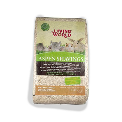 - Living World Wood Aspen Shavings, 4-Cubic Feet
