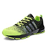 Kuako Men Women Running Shoes Air Trainers Fitness Casual Sports Walk Gym Jogging Athletic Sneakers