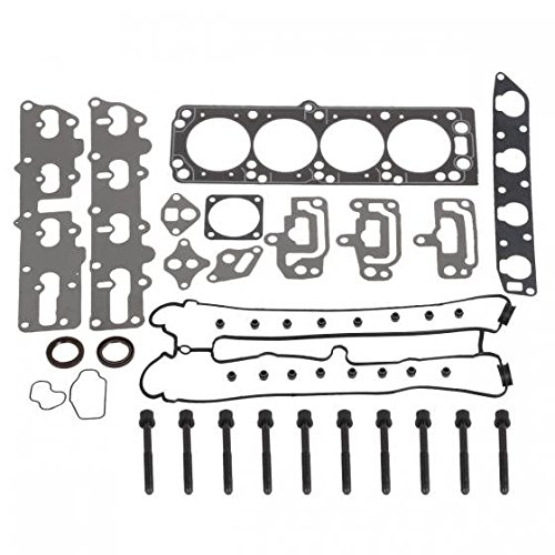 Suzuki Forenza Set - Cylinder Head Gasket kit with Head Gasket Bolts Set for AMIGO RODEO X22SE DAEWOO NUBIRA X20SE SUZUKI FORENZA RENO A20DMS 2.2L L4 DOHC