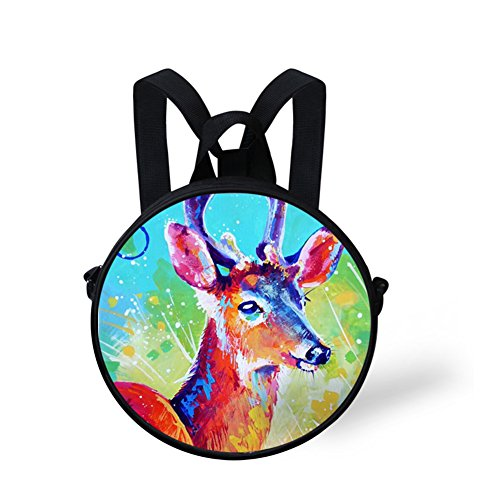 Stylish FunnyPrint V6lc486i Bag Bag Print Round Crossbody Round dFCqBF