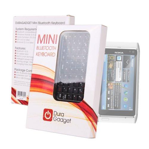 Sleek & Portable Miniature Wireless Smartphone Keyboard G...