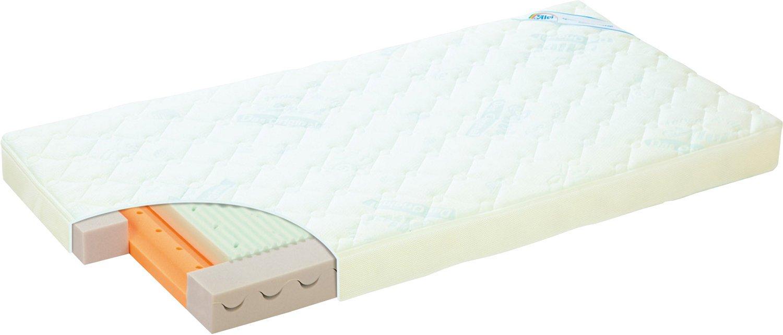 Alvi Kinderbett Matratze Wave 60x120 cm - nur echte Wellen können schöner sein