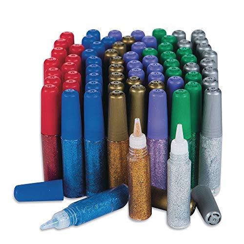 (Color Splash! Mini Glitter Glue Pens Set of 72)
