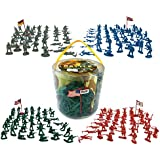 Action figures 200 Pieces Army Men Toy Soldiers (World War 2)