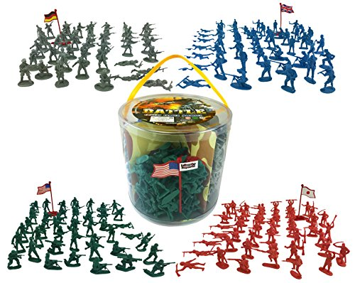 Action figures Pieces Soldiers World