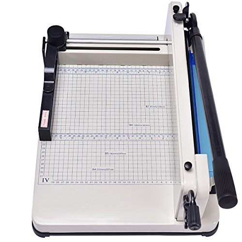 Giantex A4 Paper Cutter Office Home Heavy Duty Guillotine Trimmer Cutting Machine 400 Sheets (12 inch) by Giantex (Image #3)'
