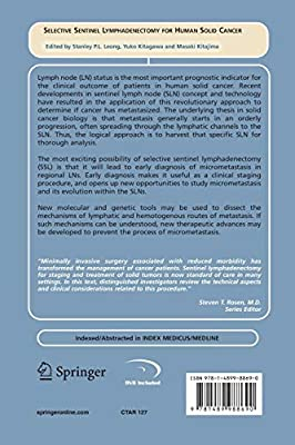 Selective Sentinel Lymphadenectomy for Human Solid Cancer (Cancer Treatment and Research)                         (Paperback)