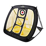 PodiuMax Square Pop Up Golf Chipping Net, Indoor/Outdoor Golfing Target Net for Accuracy and Swing Practice, Portable