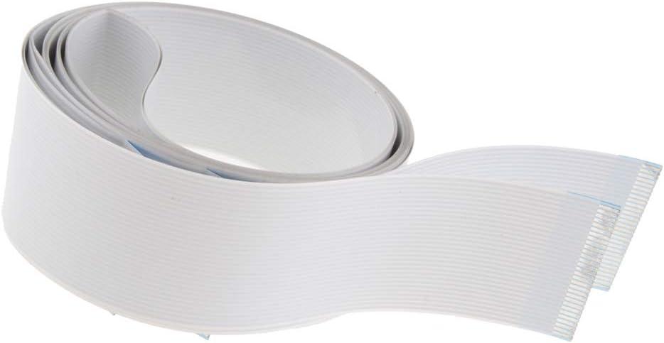 non-brand Cable de Arrastre del Plotter para HP, Piezas y Accesorios para Cable Blanco Impresora: Amazon.es: Electrónica