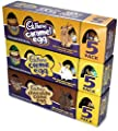 Cadbury Easter Creme Eggs, Chocolate Creme Eggs & Caramel Eggs, 5-Count Boxes (3 Pack Bundle)