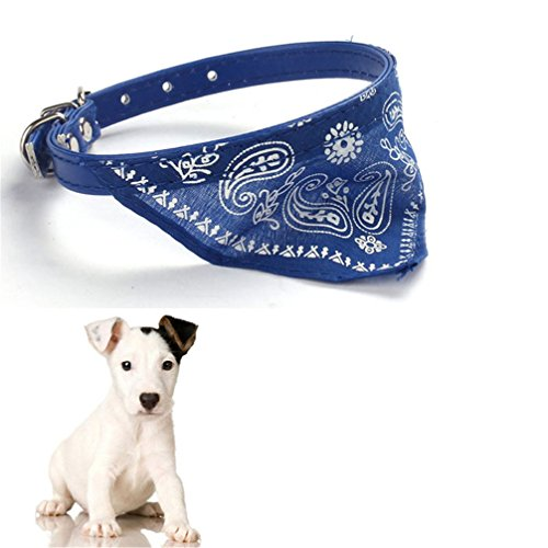 Gotd Halloween New Pet Dog Cat Puppies Collars Scarf Neckerchief Necklace Triangle (Blue) (Cat Dog Halloween)
