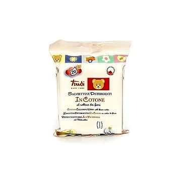 Trudi 00431 20pieza(s) toallita húmeda para bebé - Toallitas húmedas para bebé (Bolsa de plástico, 20 pieza(s), Bolsa de plástico): Amazon.es: Bebé