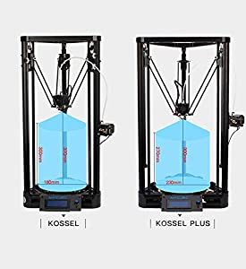 Anycubic Upgraded Delta Rostock 3D Printer Kit Large Print Size with Heatbed and Power Supply by ANYCUBIC