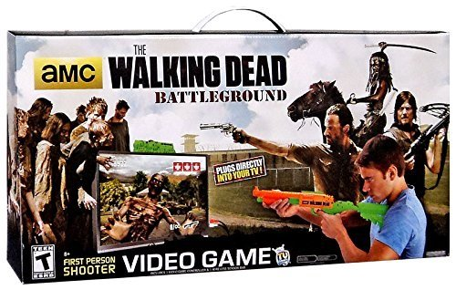 The Walking Dead AMC TV Series Battleground Video Game by Plug 'n' Play TV Games [並行輸入品] B0161SJ3XO