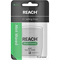Deals on Reach Waxed Dental Floss 55 Yards