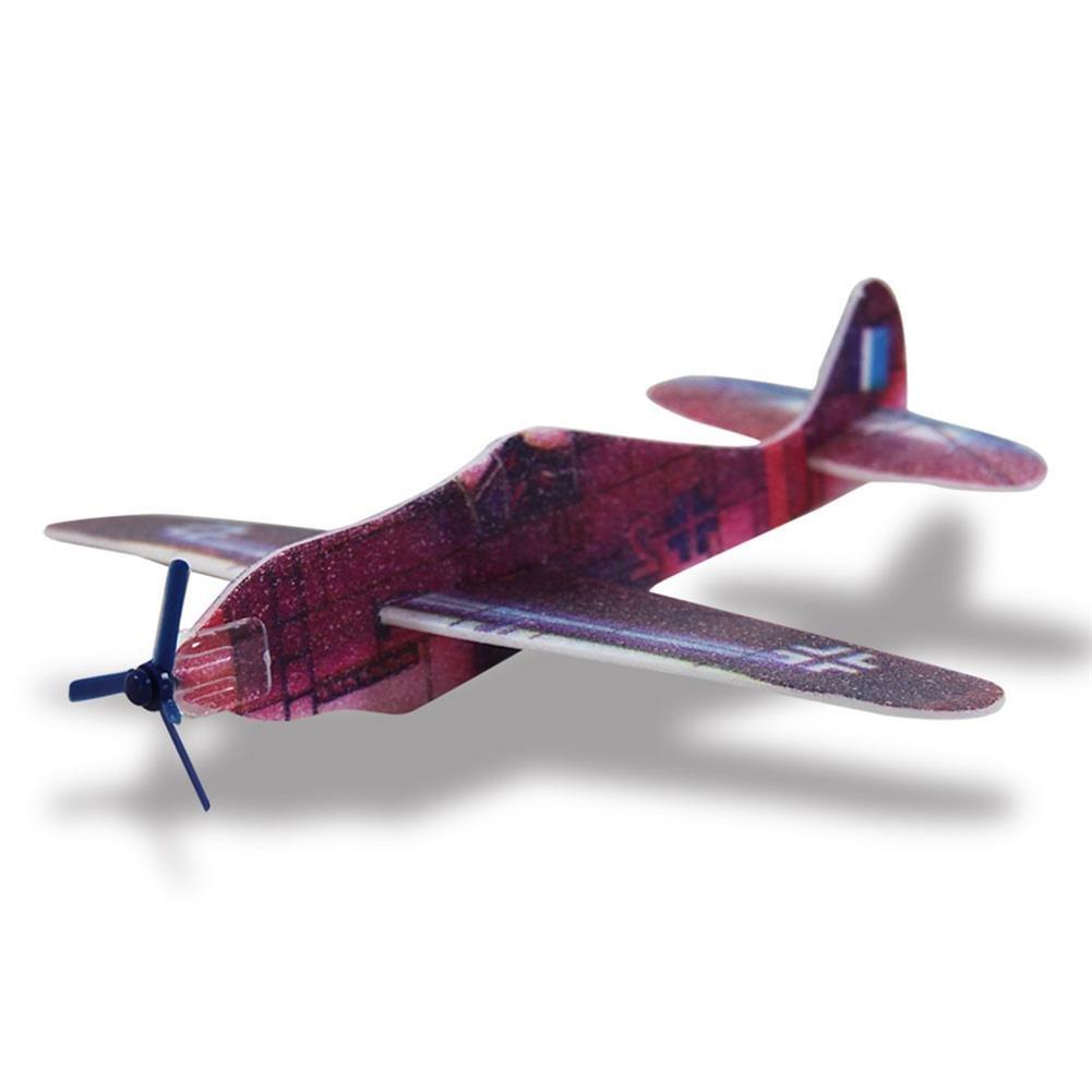 384 x HC-Handel 910594 Styropor Flieger Flugzeug 14 cm verschiedene Ausführungen