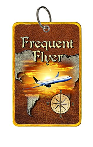 Extra Large Luggage Tag: Frequent Flyer