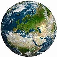 FWSS 1000 Stukjes Ronde Regenboog Puzzel Geometrische Figuur Volwassenen Kinderen Europa Puzzel Aarde Puzzel Maan Puzzel Educatief Speelgoed Aarde Europa