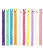 10st kant rits, volledige lengte 30cm diy nylon spoel bloem rits kant ritsen naaien accessoires kleding voor diy naaien op maat ambachtelijke bed tas