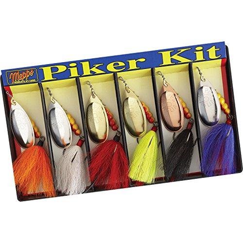 - Mepps 500839#5 Aglia Assortment Dressed Piker Kit