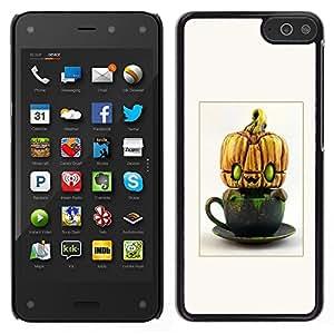 LECELL--Funda protectora / Cubierta / Piel For Amazon Fire Phone -- Extranjero calabaza de Halloween divertido --