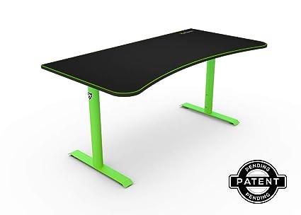 91852b56a0e39 Amazon.com  Arozzi Arena Gaming Desk - Green  Home   Kitchen