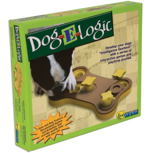 51uknFOe8tL - Ware Manufacturing Dog-E-Logic Interactive Dog Game Toy
