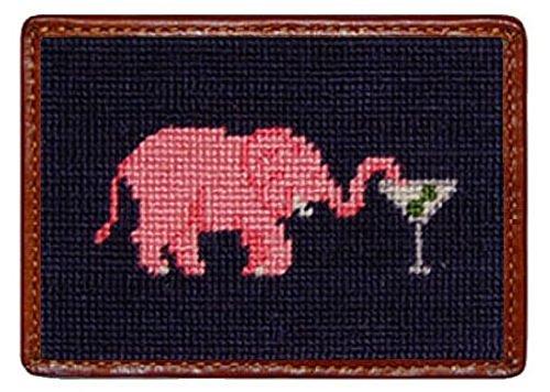 smathers-branson-elephant-martini-needlepoint-credit-card-wallet-black-cw-18