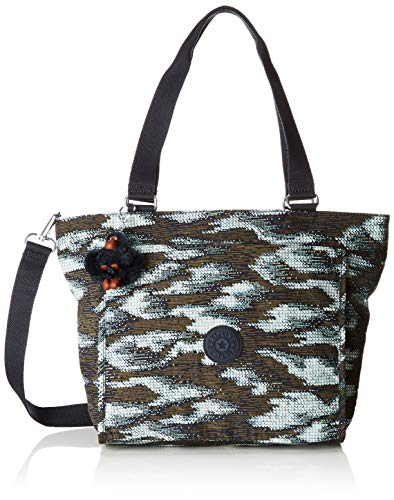 Kipling New Shopper S Donna, 42x27x13 Cm Multicolore (points dynamiques)