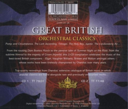 Great British Orchestral Classics / Various by Chandos