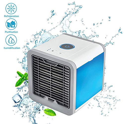 Delicieux Portable Air Conditioner Mini Fan  Personal Mini Air Conditioner, USB  Portable Personal Space Air