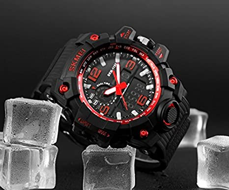 Amazon.com: Relojes de Hombre Sport Water Resistant Watch Digital Men RE0104: Watches