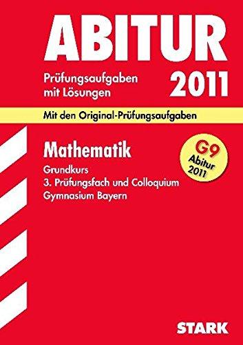 Abiturprüfung Bayern - Mathematik GK