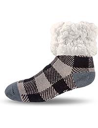 Pudus adult regular cozy winter classic slipper socks...